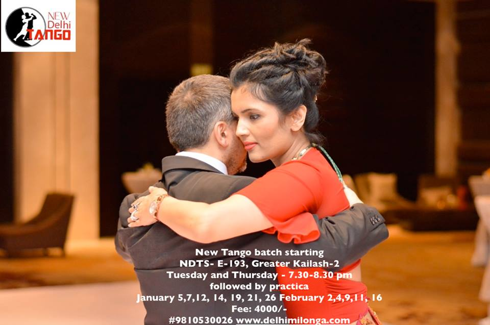 Dance With Me India - Instructor - Kiran Sawhney - New Delhi Tango School