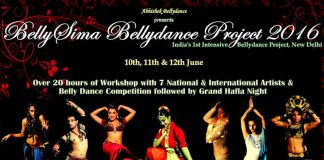 Dance With Me India - Delhi Event - BellySima Bellydance Project 2016