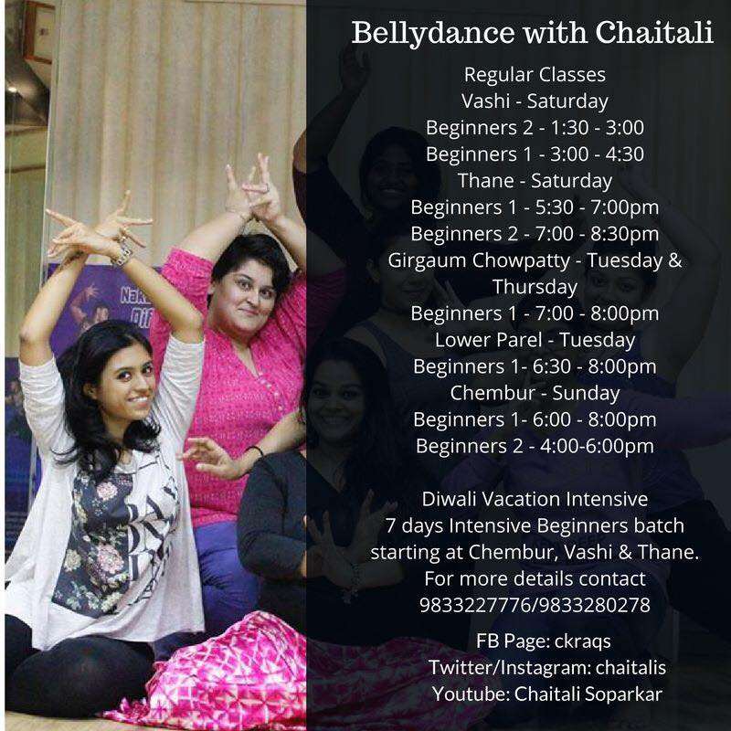 Dance With Me India - School - Bellydance with Chaitali