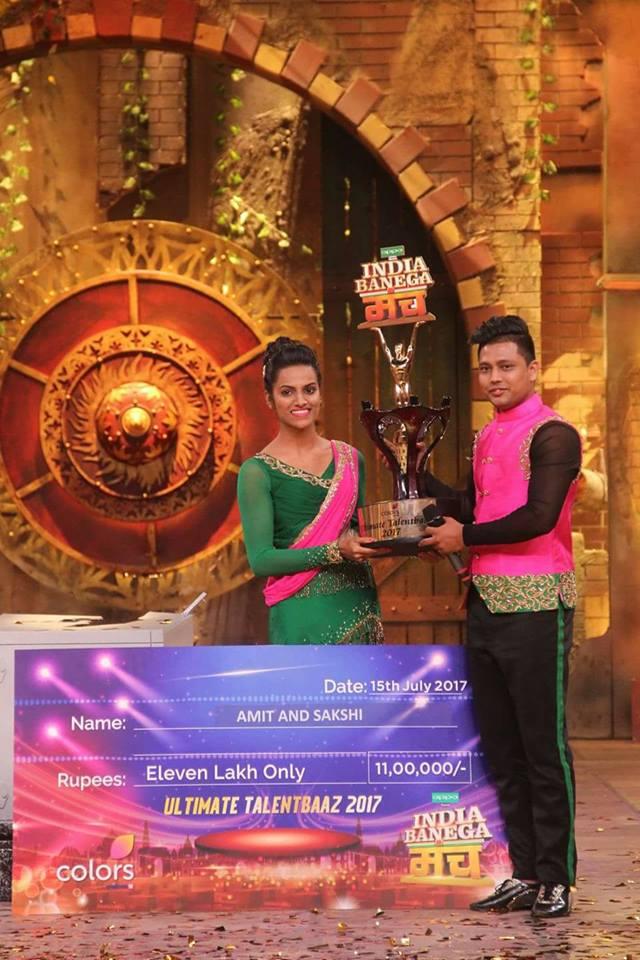 Dance With Me India - India Banega Manch 2017 Colors TV Winner - Sakshi Kurtarkar