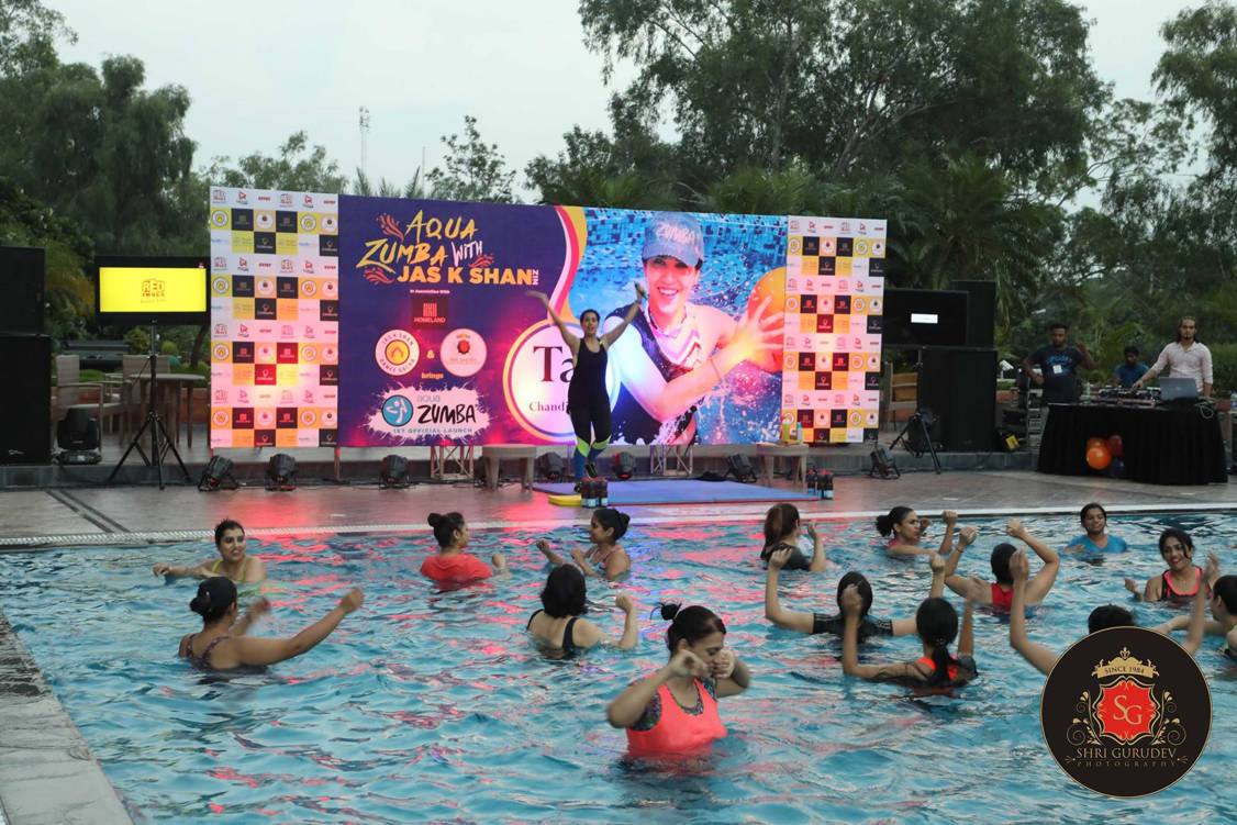 Jas k Shan Dance Dacha Chandigarh - Swimming Pool Aqua Zumba Fitness Belly Dance Bollywood Punjabi Folk Latin Salsa Modern Contemporary Ballet Kickboxing Aerobics More