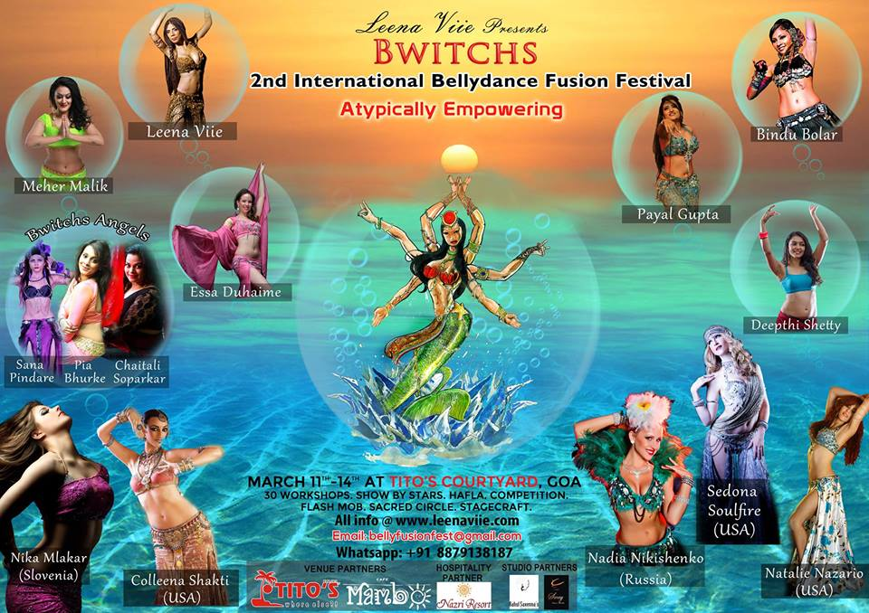 Bwitchs International Bellydance Fusion Festival - Dance With Me India