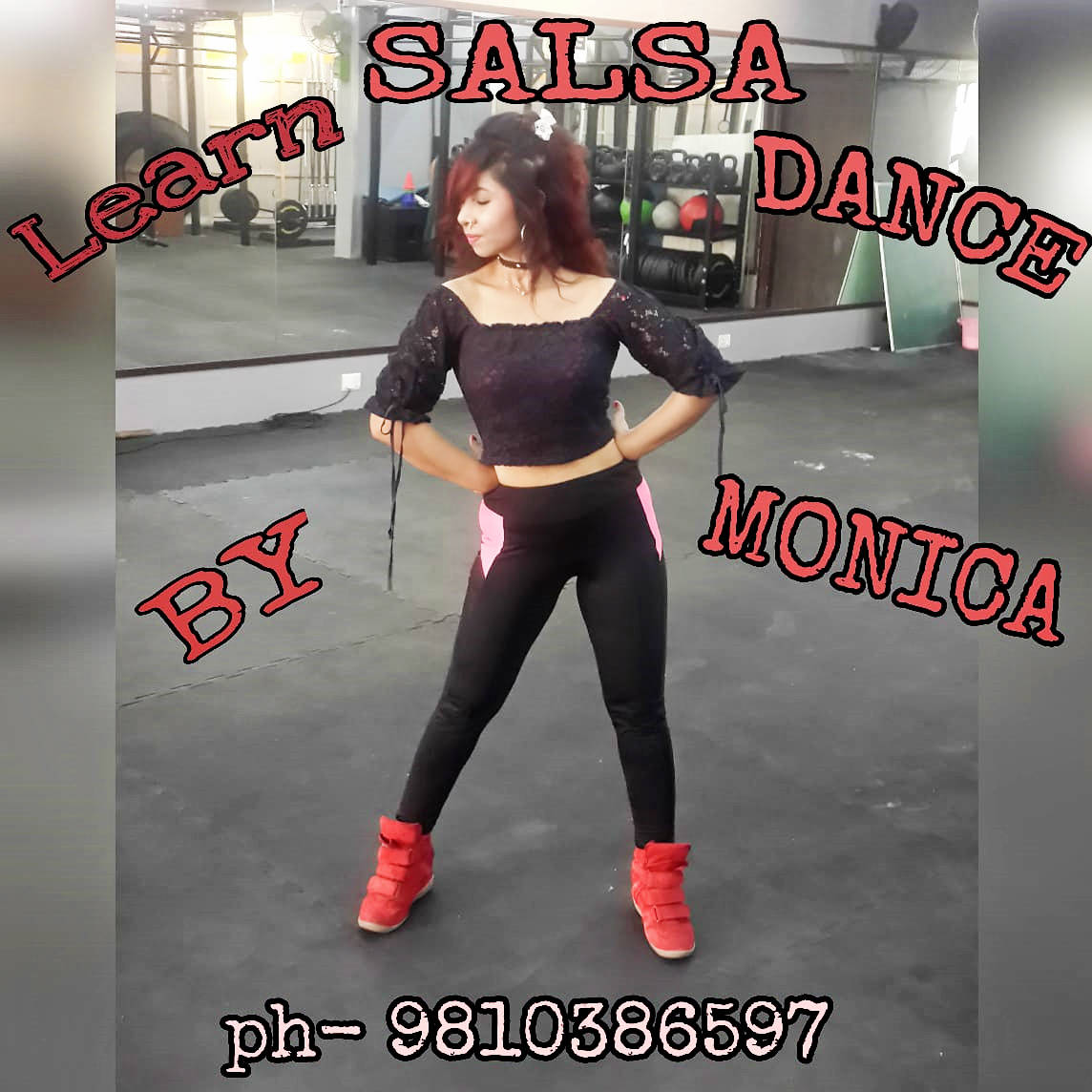 Monica Salsa Bachata Latin Dance School Noida Ghaziabad New Delhi - Dance With Me India