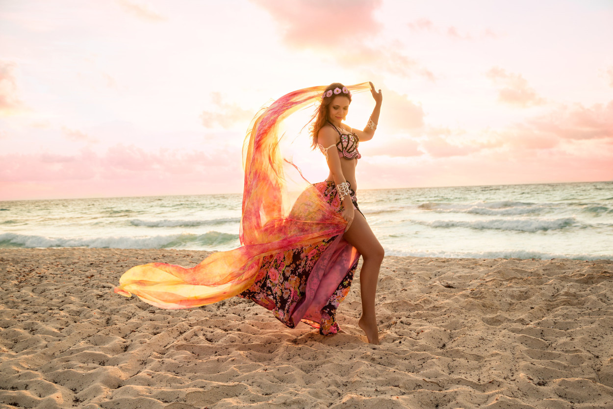 Learn Belly Dance Online - Dance With Me India