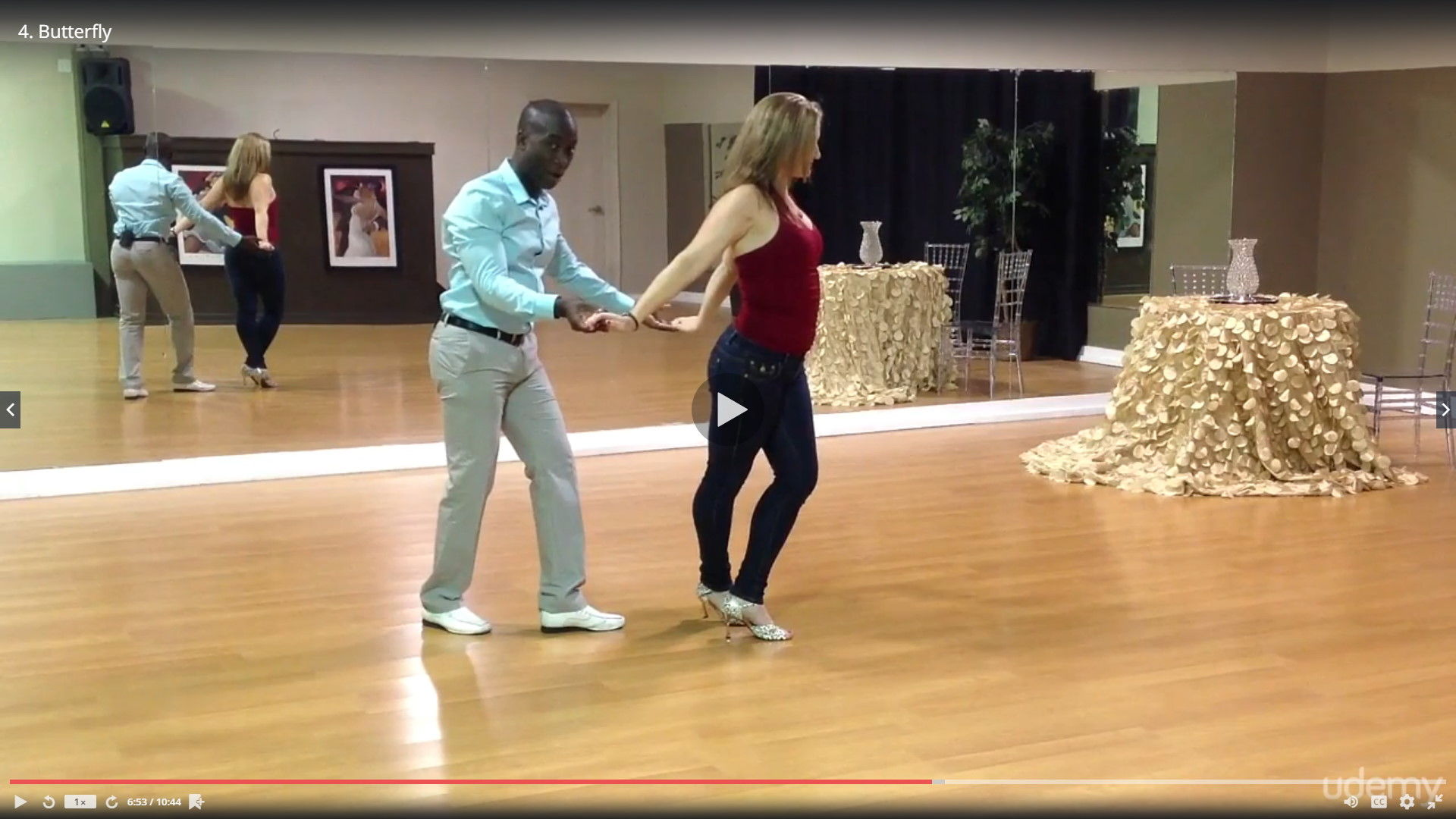 Learn How 2 Dance - Salsa Advanced by Darren Stuart - Dance With Me India