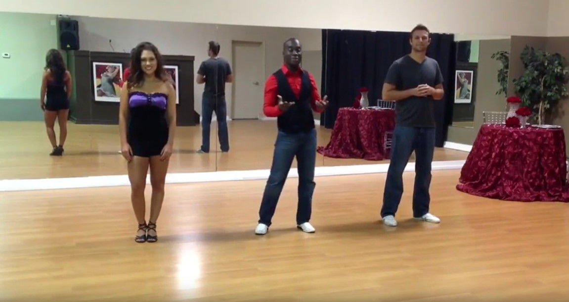 Learn How 2 Dance - Salsa Beginner by Darren Stuart - Dance With Me India