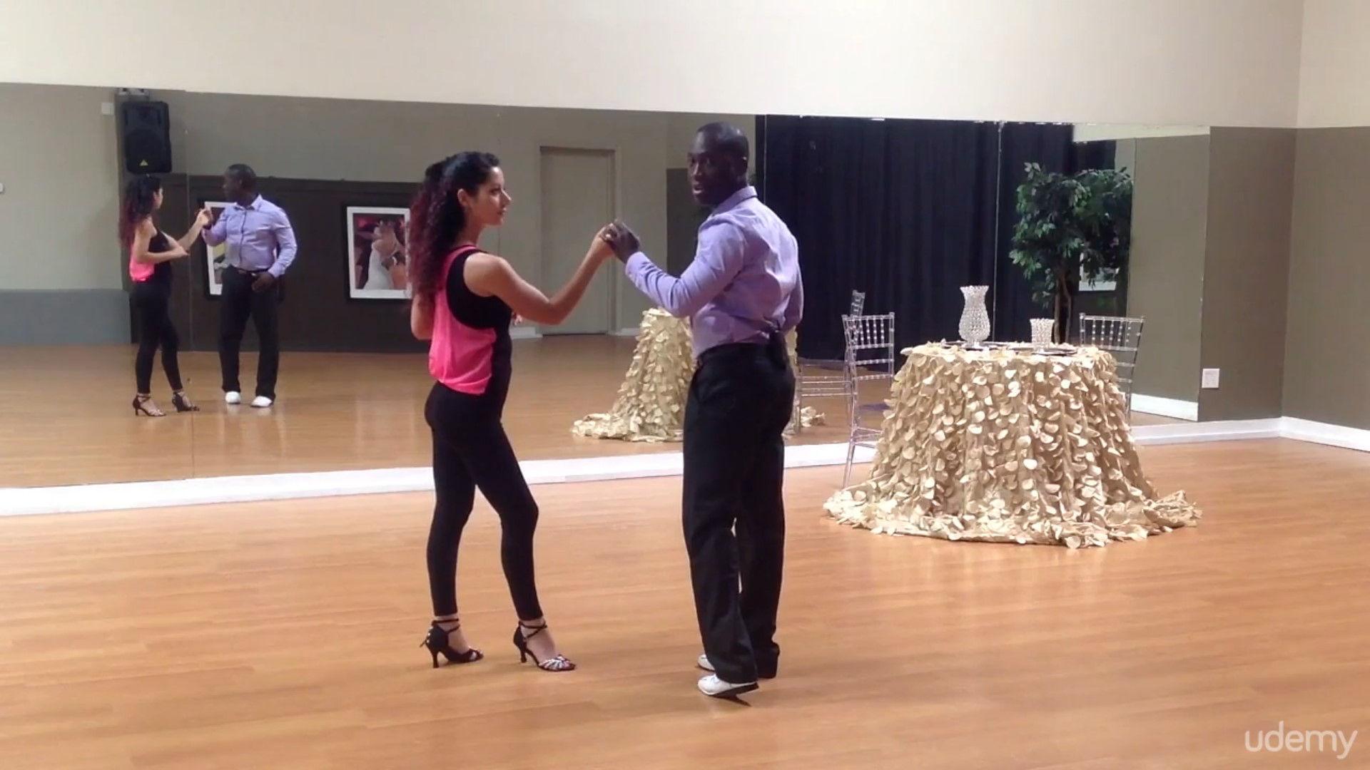 Learn How 2 Dance - Salsa Intermediate by Darren Stuart - Dance With Me India